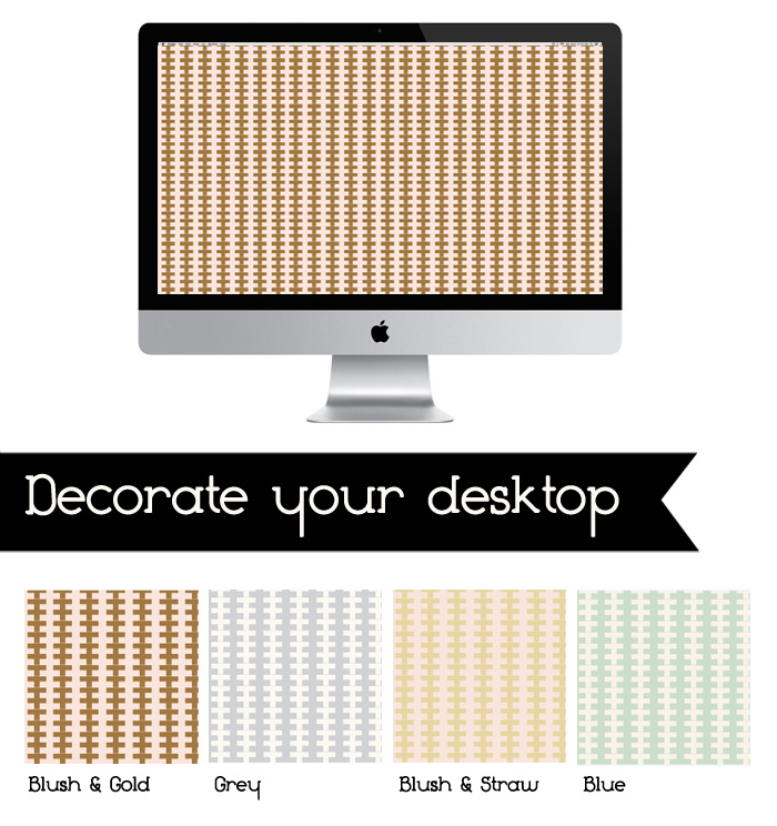 decorate your desktop pillow stitch